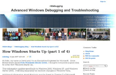 http://blogs.msdn.com/b/ntdebugging/archive/2007/06/19/how-windows-starts-up-part-1-of-4.aspx