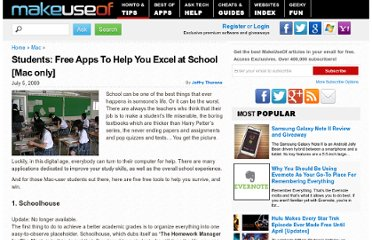 http://www.makeuseof.com/tag/five-free-mac-tools-to-help-you-excel-at-school/