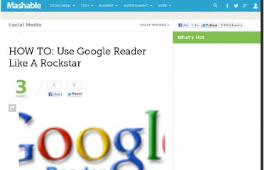 http://mashable.com/2008/12/07/how-to-use-google-reader/