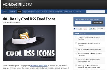 http://www.hongkiat.com/blog/really-cool-rss-feed-icons/