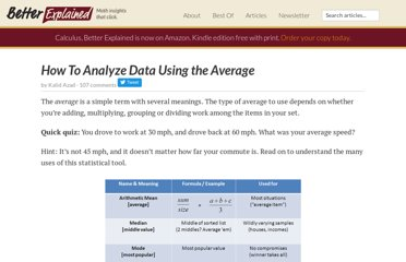 http://betterexplained.com/articles/how-to-analyze-data-using-the-average/