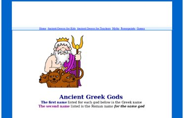 http://greece.mrdonn.org/greekgods/index.html