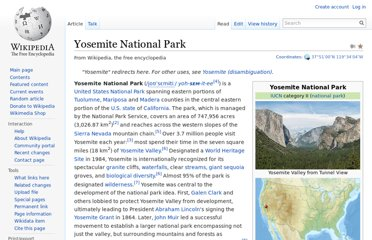 http://en.wikipedia.org/wiki/Yosemite_National_Park
