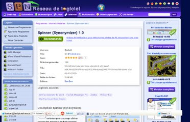 http://francais.softpicks.net/software/Internet/Outils-fax/Spinner-Synonymizer-_fr-84209.htm