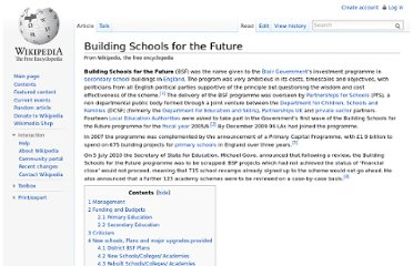 http://en.wikipedia.org/wiki/Building_Schools_for_the_Future