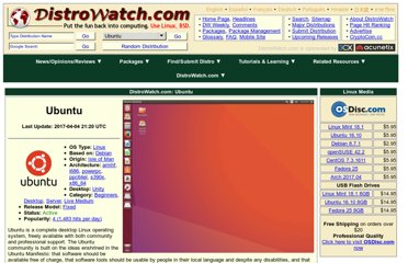 http://distrowatch.com/table.php?distribution=ubuntu