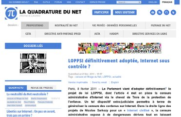 http://www.laquadrature.net/fr/loppsi-definitivement-adoptee-internet-sous-controle