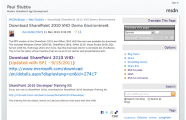 http://blogs.msdn.com/b/pstubbs/archive/2010/05/11/download-sharepoint-2010-vhd-demo-environment.aspx