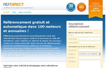 http://www.refdirect.fr/referencement/referencement-gratuit.html