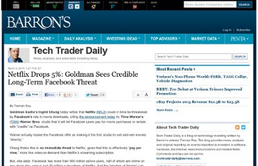 http://blogs.barrons.com/techtraderdaily/2011/03/08/netflix-drops-5-goldman-sees-credible-long-term-facebook-threat/