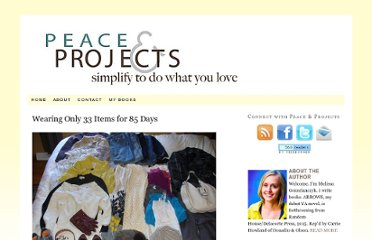 http://www.peaceandprojects.com/blog/2010/10/wearing-only-33-items-for-85-days/