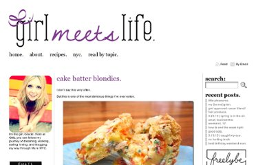 http://girlmeetslife.com/2010/12/cake-batter-blondies/