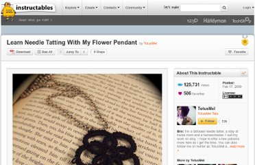 http://www.instructables.com/id/Learn-Needle-Tatting-With-My-Flower-Pendant/