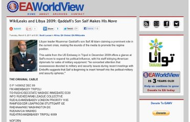 http://www.enduringamerica.com/home/2011/3/8/wikileaks-and-libya-2009-qaddafis-son-saif-makes-his-move.html