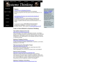 http://www.thinking.net/Systems_Thinking/systems_thinking.html