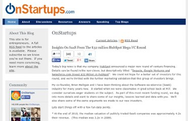 http://onstartups.com/tabid/3339/bid/42537/Insights-On-SaaS-From-The-32-million-HubSpot-Mega-VC-Round.aspx