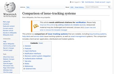 http://en.wikipedia.org/wiki/Comparison_of_issue-tracking_systems