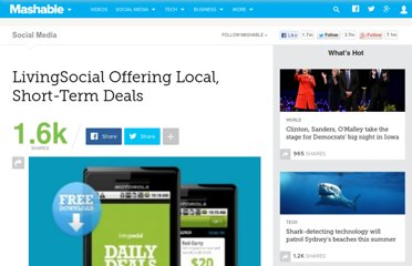 http://mashable.com/2011/03/07/livingsocial-local-short-term-deals/