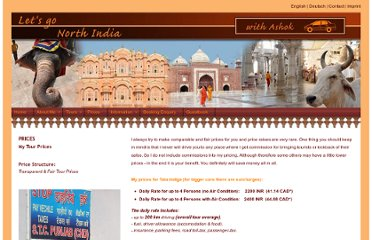 http://www.i-love-my-india.co.in/prices.html