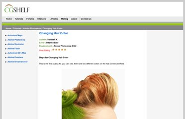 http://www.cgshelf.com/changing_hair_color.php