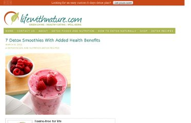 http://lifewithnature.com/detox-foods/7-detox-smoothies-with-added-health-benefits/