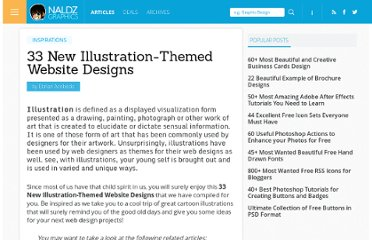 http://naldzgraphics.net/inspirations/33-new-illustration-themed-website-designs/