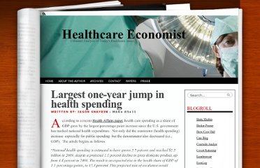 http://healthcare-economist.com/2011/03/03/largest-one-year-jump-in-health-spending/