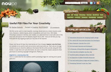 http://www.noupe.com/freebie/useful-psd-files-for-your-creativity.html