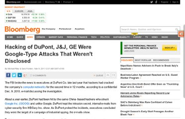 http://www.bloomberg.com/news/2011-03-08/hacking-of-dupont-j-j-ge-were-google-type-attacks-that-weren-t-disclosed.html