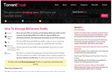 http://torrentfreak.com/how-to-encrypt-bittorrent-traffic/