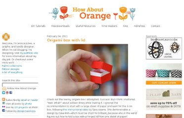 http://howaboutorange.blogspot.com/2011/02/origami-box-with-lid.html