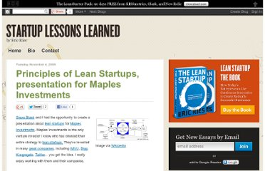 http://www.startuplessonslearned.com/2008/11/principles-of-lean-startups.html