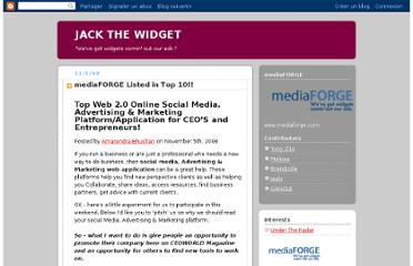 http://www.jackthewidget.com/2008/11/mediaforge-listed-in-top-10.html