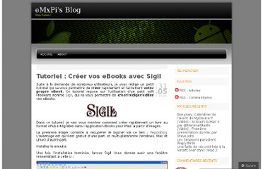 http://emxpi.wordpress.com/2010/05/31/tutoriel-creer-vos-ebooks-avec-sigil/