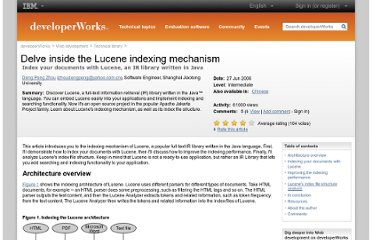 http://www.ibm.com/developerworks/library/wa-lucene/