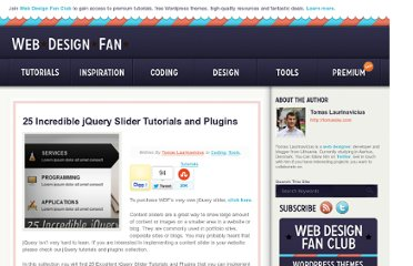 http://webdesignfan.com/jquery-slider-tutorials-and-plugins/
