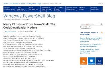 http://blogs.msdn.com/b/powershell/archive/2008/12/25/merry-christmas-from-powershell-the-codedownloader-module.aspx