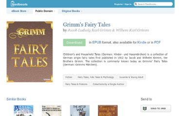 http://www.feedbooks.com/book/187/grimm-s-fairy-tales