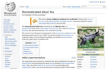 http://en.wikipedia.org/wiki/Domesticated_silver_fox