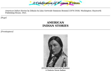 http://digital.library.upenn.edu/women/zitkala-sa/stories/stories.html
