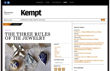 http://www.getkempt.com/good-idea/the-three-rules-of-tie-jewelry.php