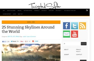 http://twistedsifter.com/2011/03/25-stunning-skylines-around-the-world/
