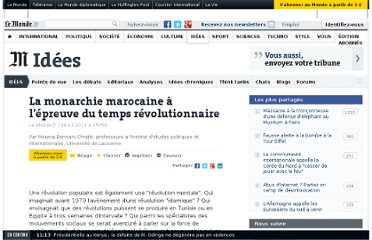 http://www.lemonde.fr/idees/article/2011/03/08/la-monarchie-marocaine-a-l-epreuve-du-temps-revolutionnaire_1489959_3232.html