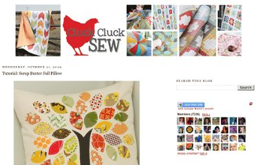 http://www.cluckclucksew.com/2009/10/tutorial-scrap-buster-fall-pillow.html