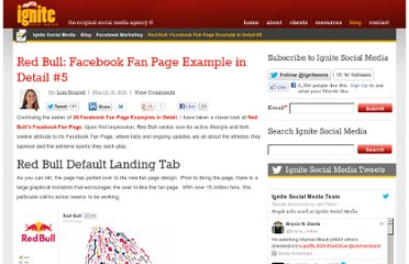 http://www.ignitesocialmedia.com/facebook-marketing/red-bull-facebook-fan-page-example/