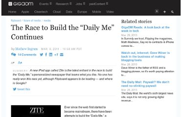 http://gigaom.com/2011/03/09/the-race-to-build-the-daily-me-continues/