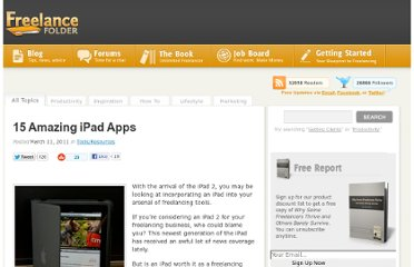 http://freelancefolder.com/15-amazing-ipad-apps/