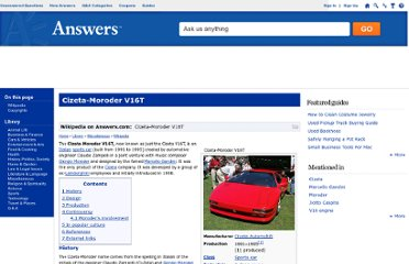 http://www.answers.com/topic/cizeta-moroder-v16t-1