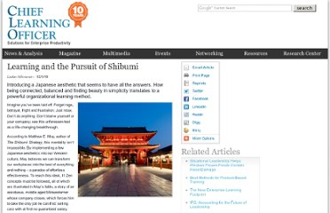 http://clomedia.com/articles/view/learning-and-the-pursuit-of-shibumi/1