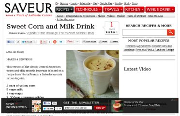 http://www.saveur.com/article/Recipes/Sweet-Corn-and-Milk-Drink